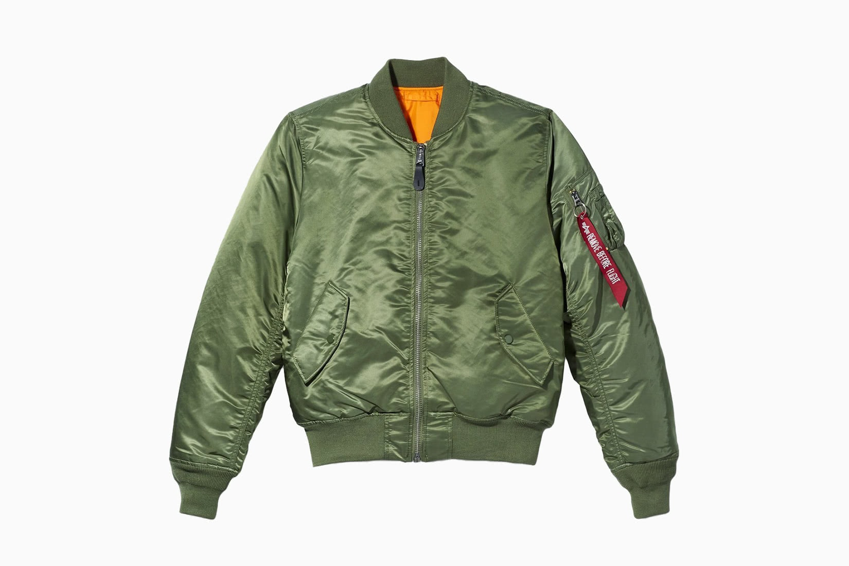 best men bomber jacket olive Alpha Industries MA-1 review - Luxe Digital