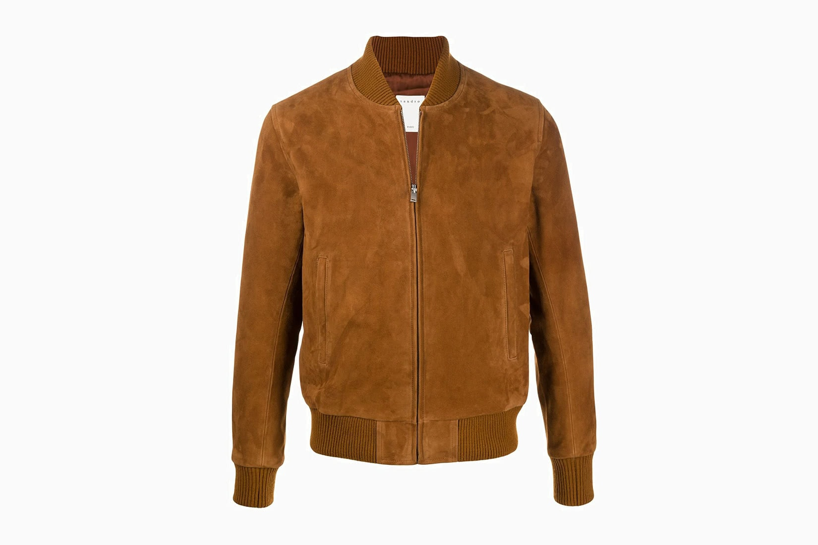 best men bomber jacket suede Sandro review - Luxe Digital