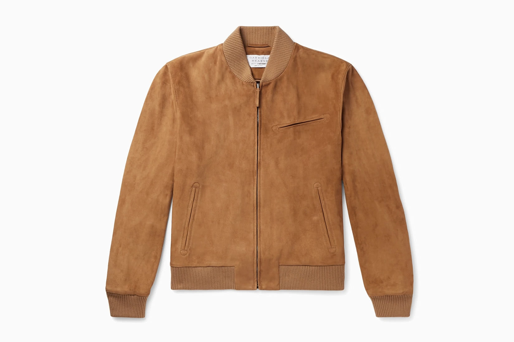 best men bomber jacket tan Gabriela Heart review - Luxe Digital