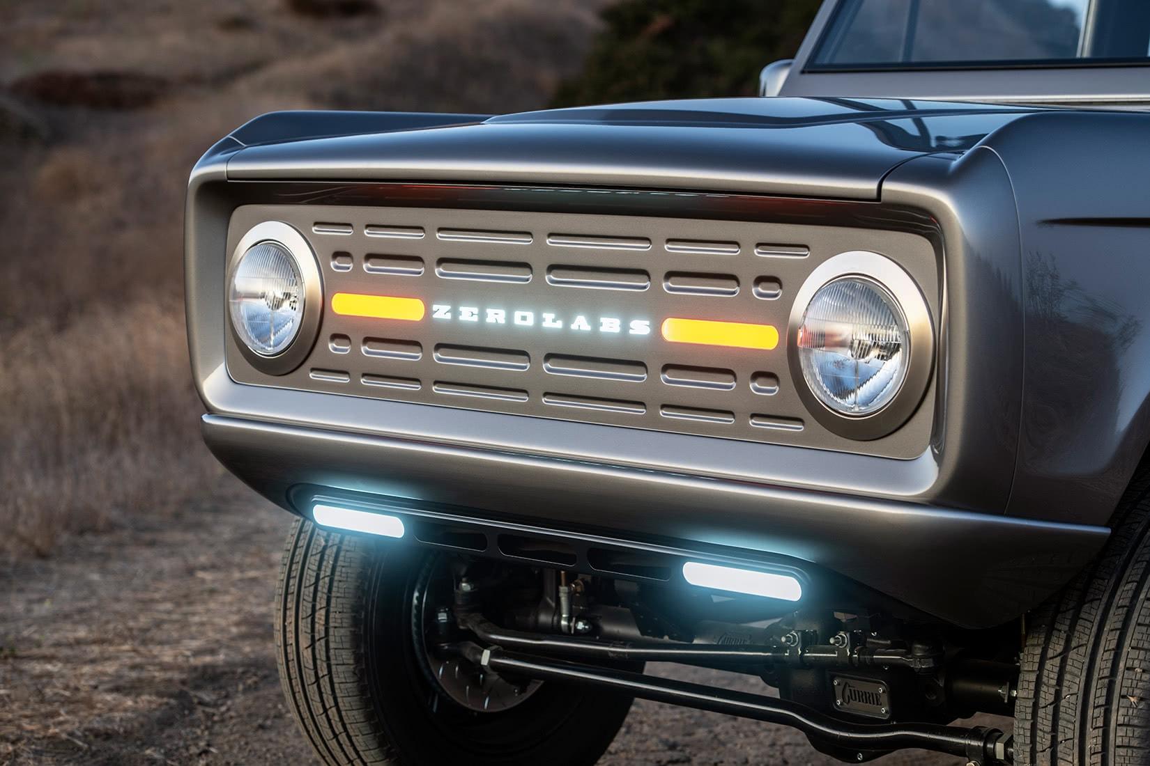 zero labs electric ford bronco exterior - Luxe Digital