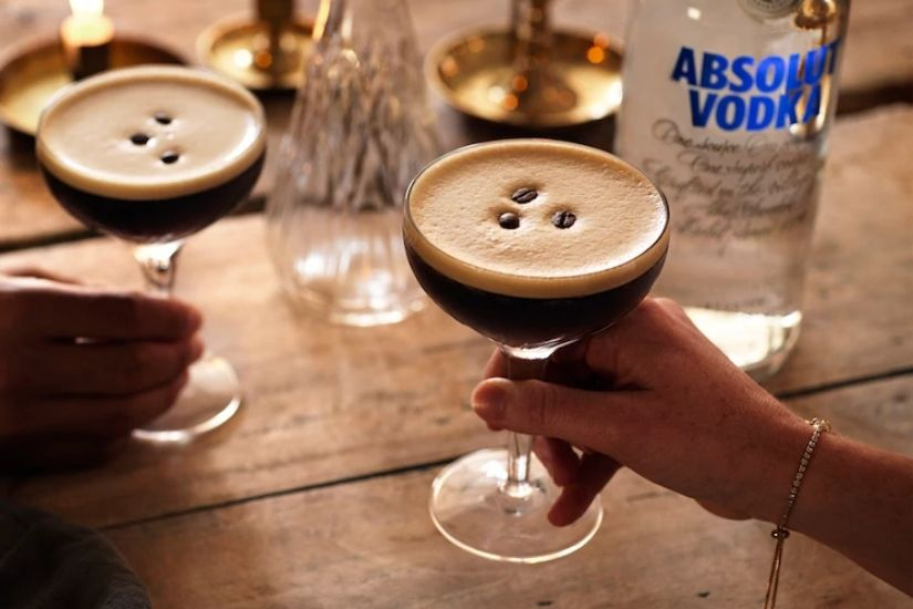 Absolut Vodka Bottle Espresso Martini Cocktail Recipe Price Size - Luxe Digital