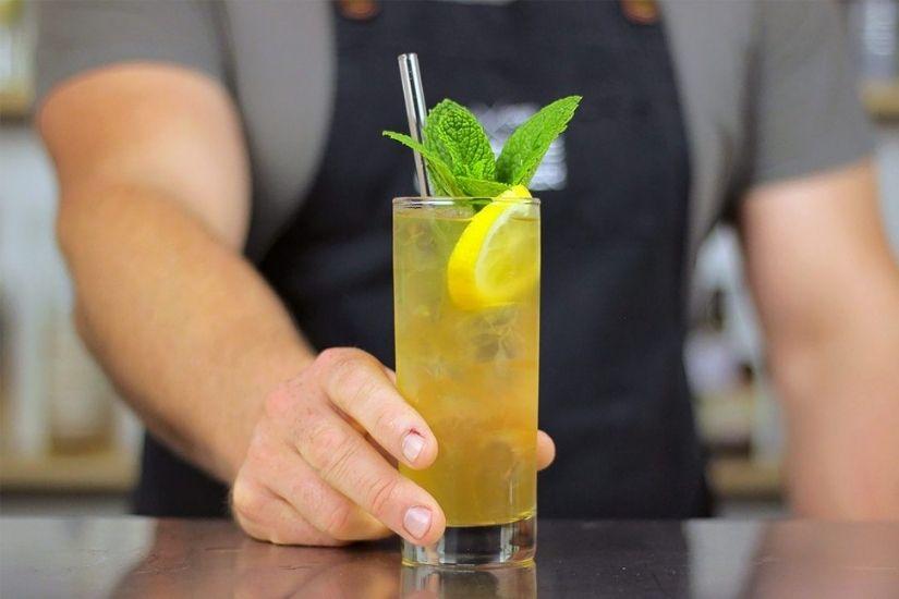 Revisión de recetas de whisky Highball de Buchanans - Luxe Digital