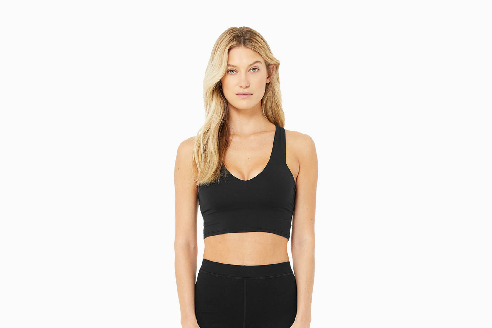 best sports bras alo yoga real bra review Luxe Digital