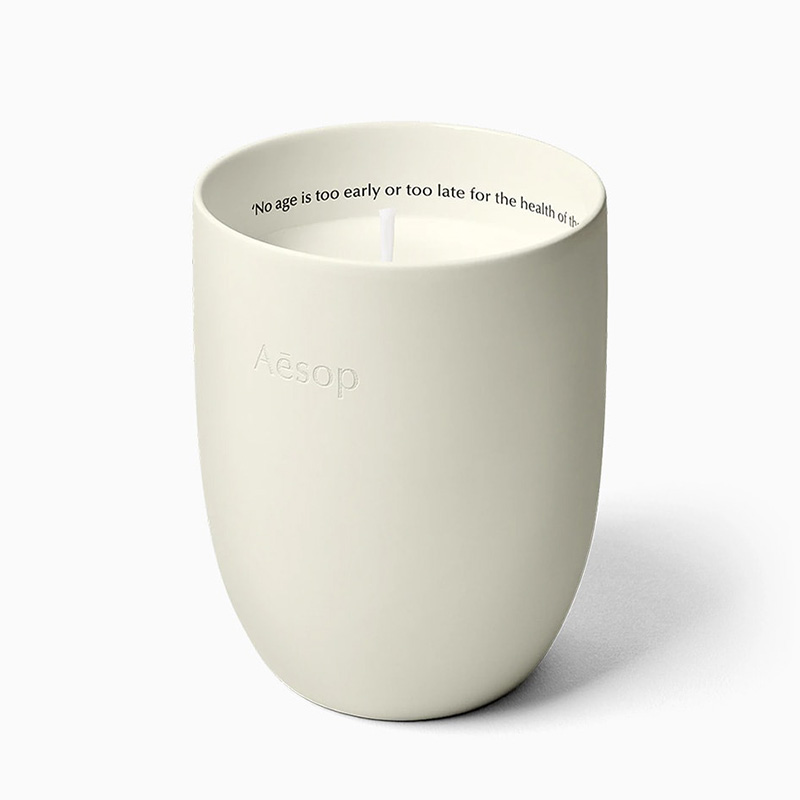 best gift women aesop scented candles - Luxe Digital