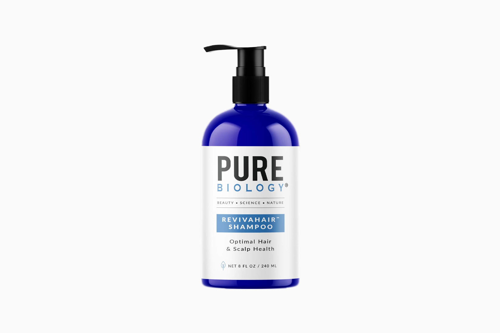 best hair growth shampoo women pure biology review - Luxe Digital