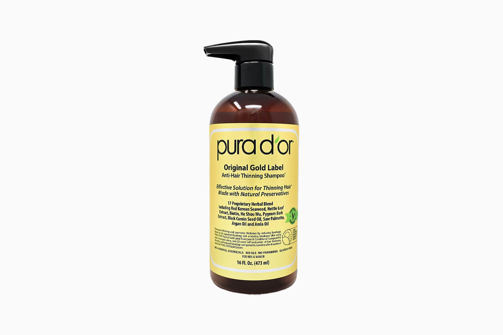 best hair growth shampoo women pura d'or review - Luxe Digital