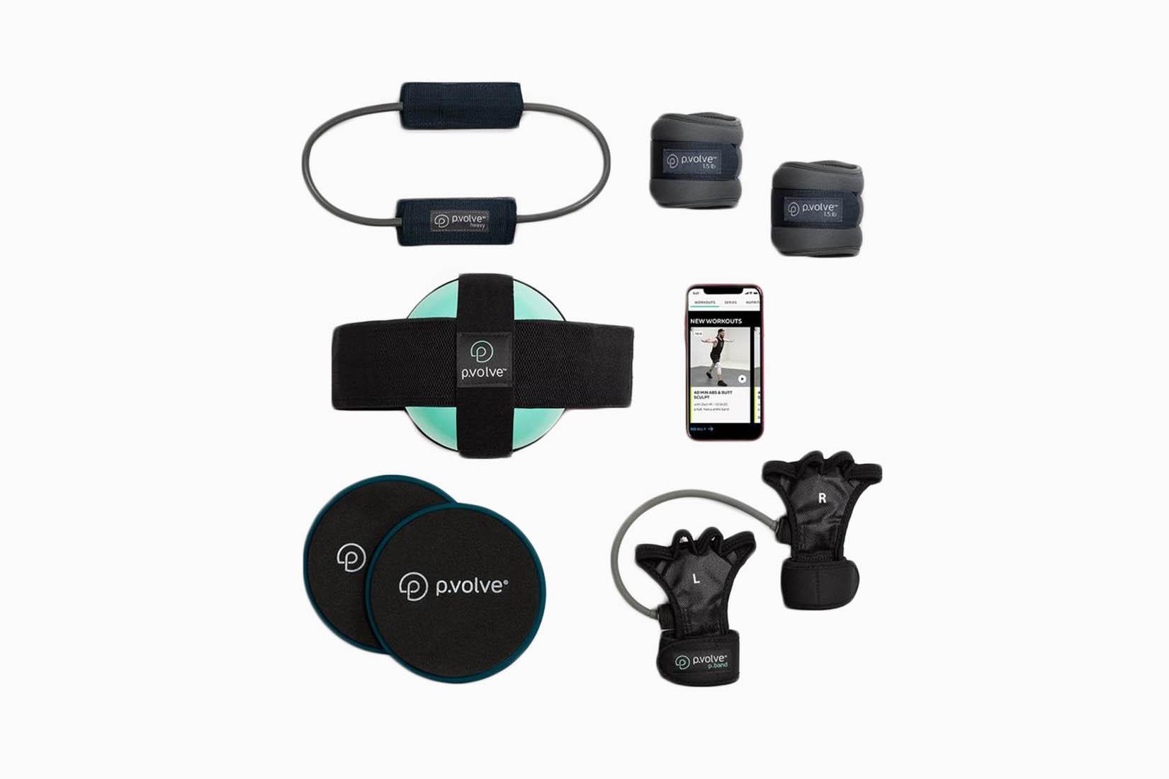 best home gym equipment p volve starter kitreview - luxe digital