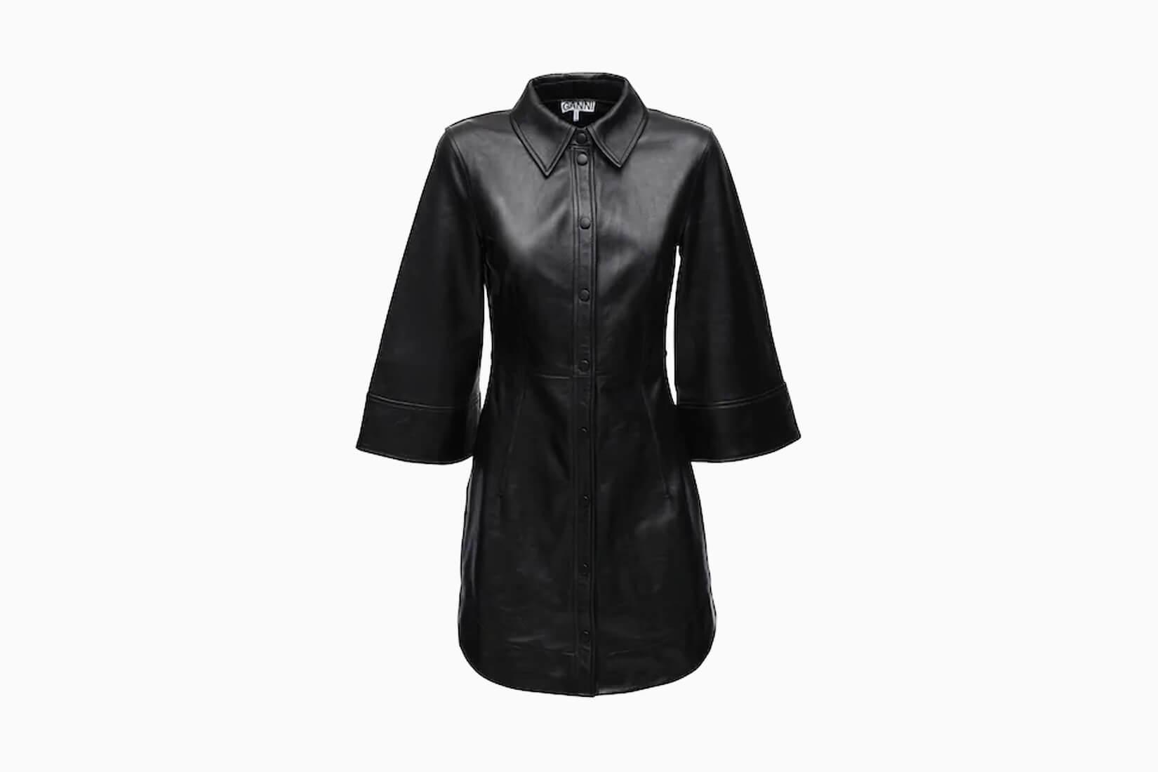 best little black dresses ganni - Luxe Digital