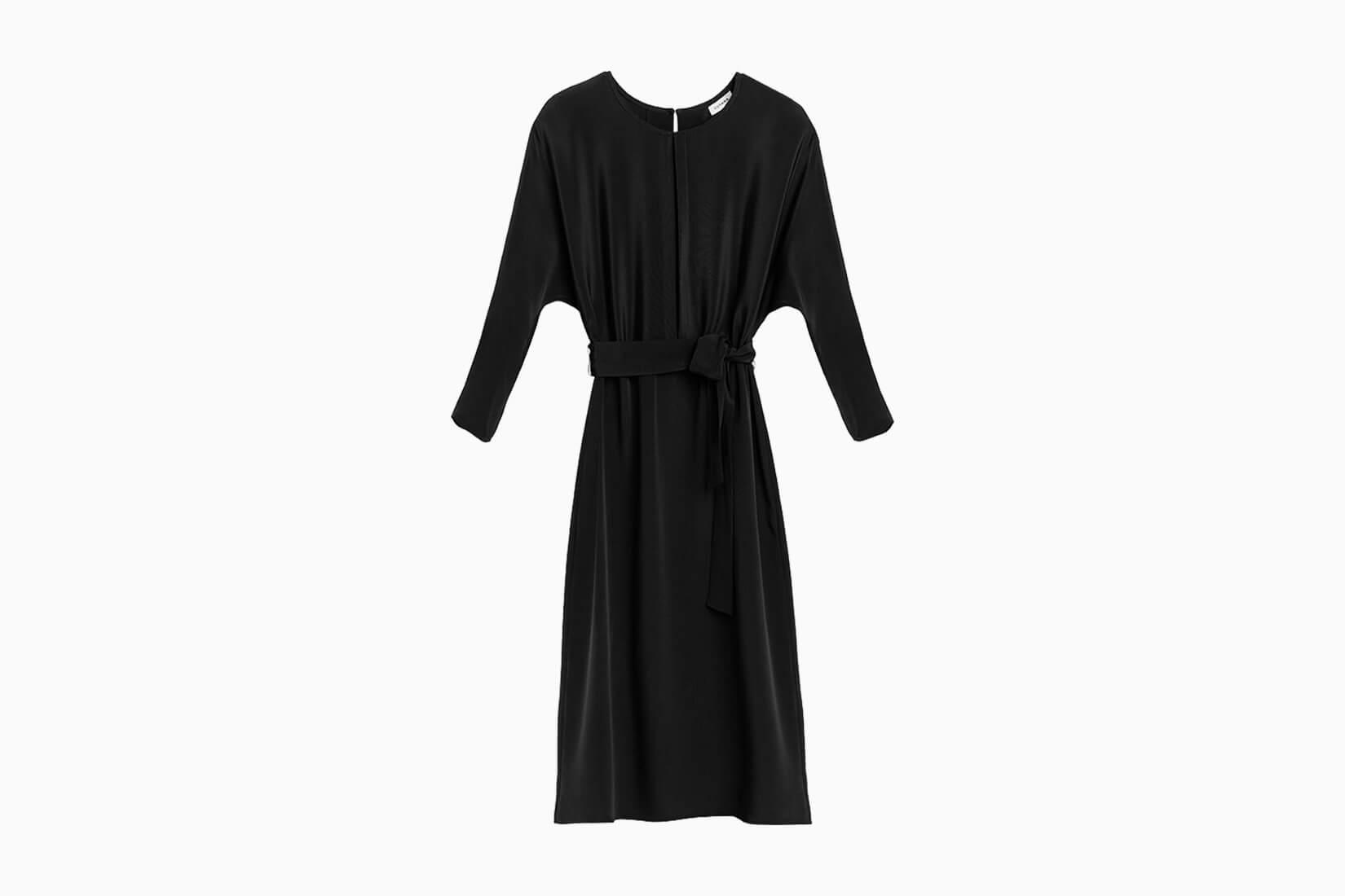 best little black dresses cuyana silk - Luxe Digital