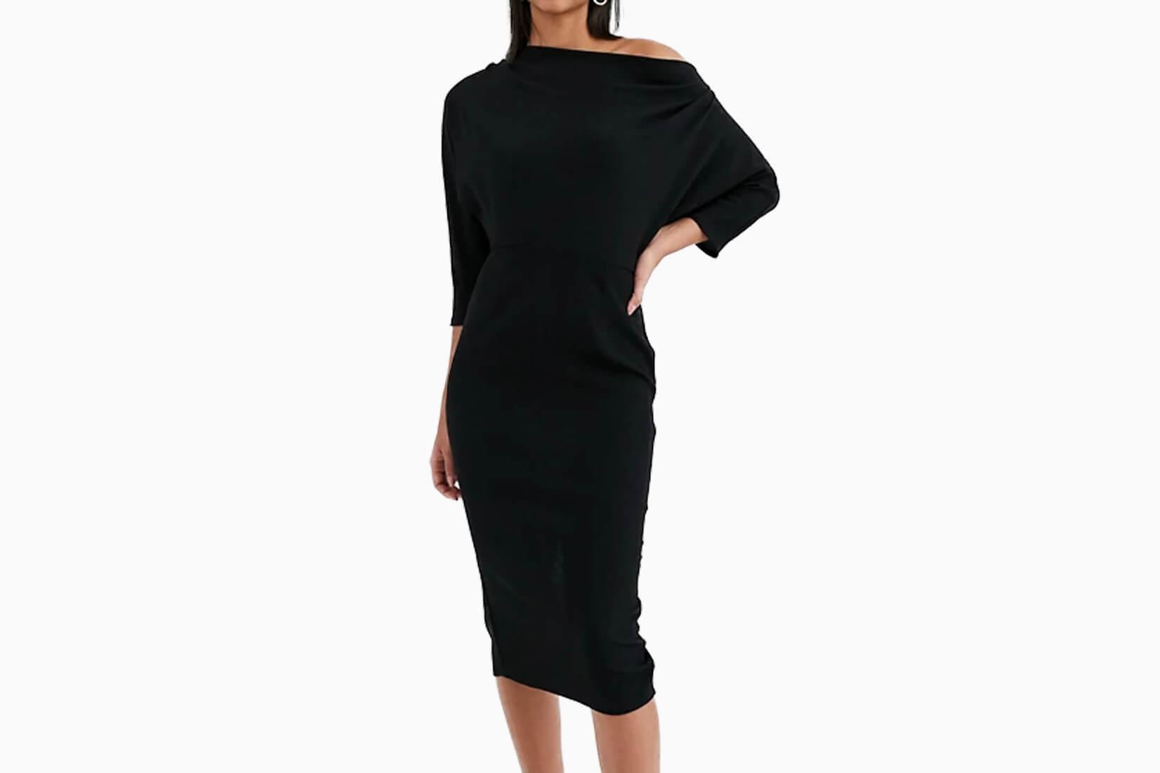 best little black dresses asos design - Luxe Digital