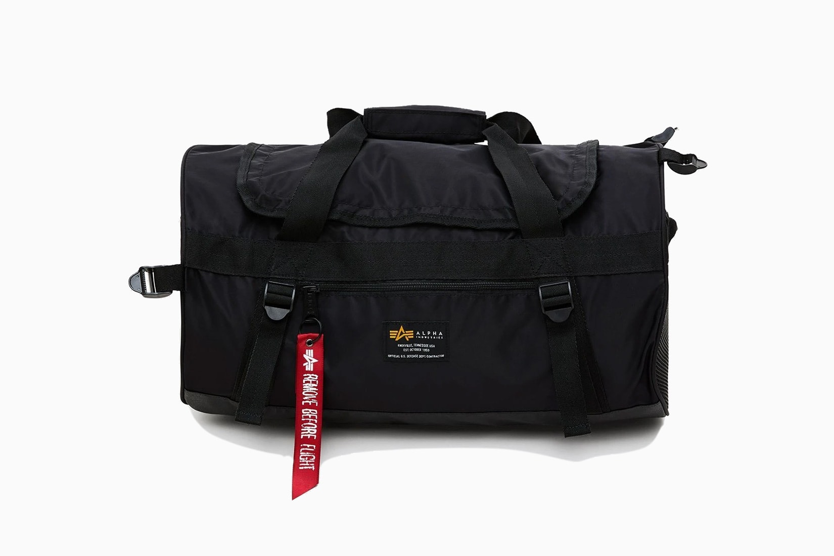 best men gym bag alpha industries crew duffle review - Luxe Digital