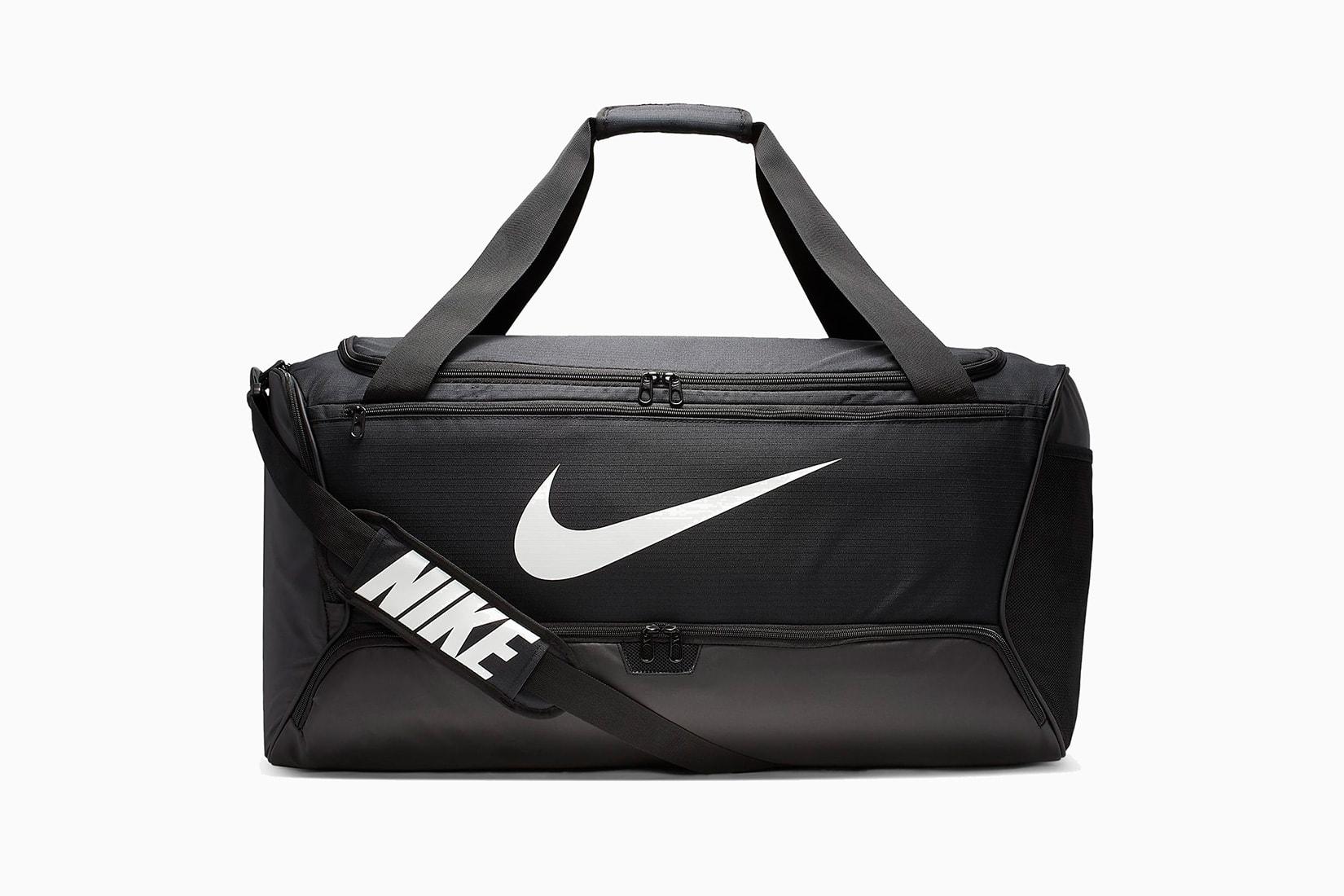 best men gym bag nike brasilia duffel review - Luxe Digital