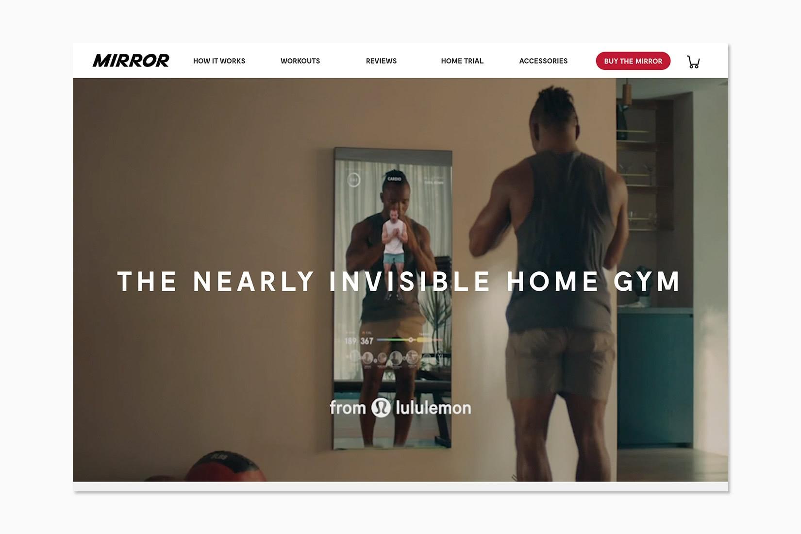 best online workout program mirror review - Luxe Digital