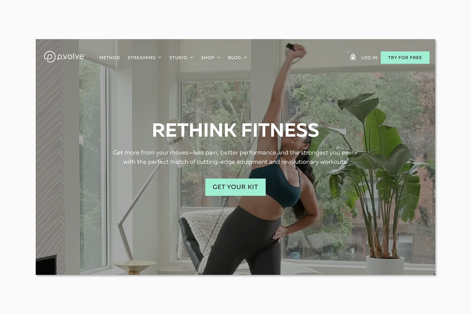 best online workout program p.volve review - Luxe Digital