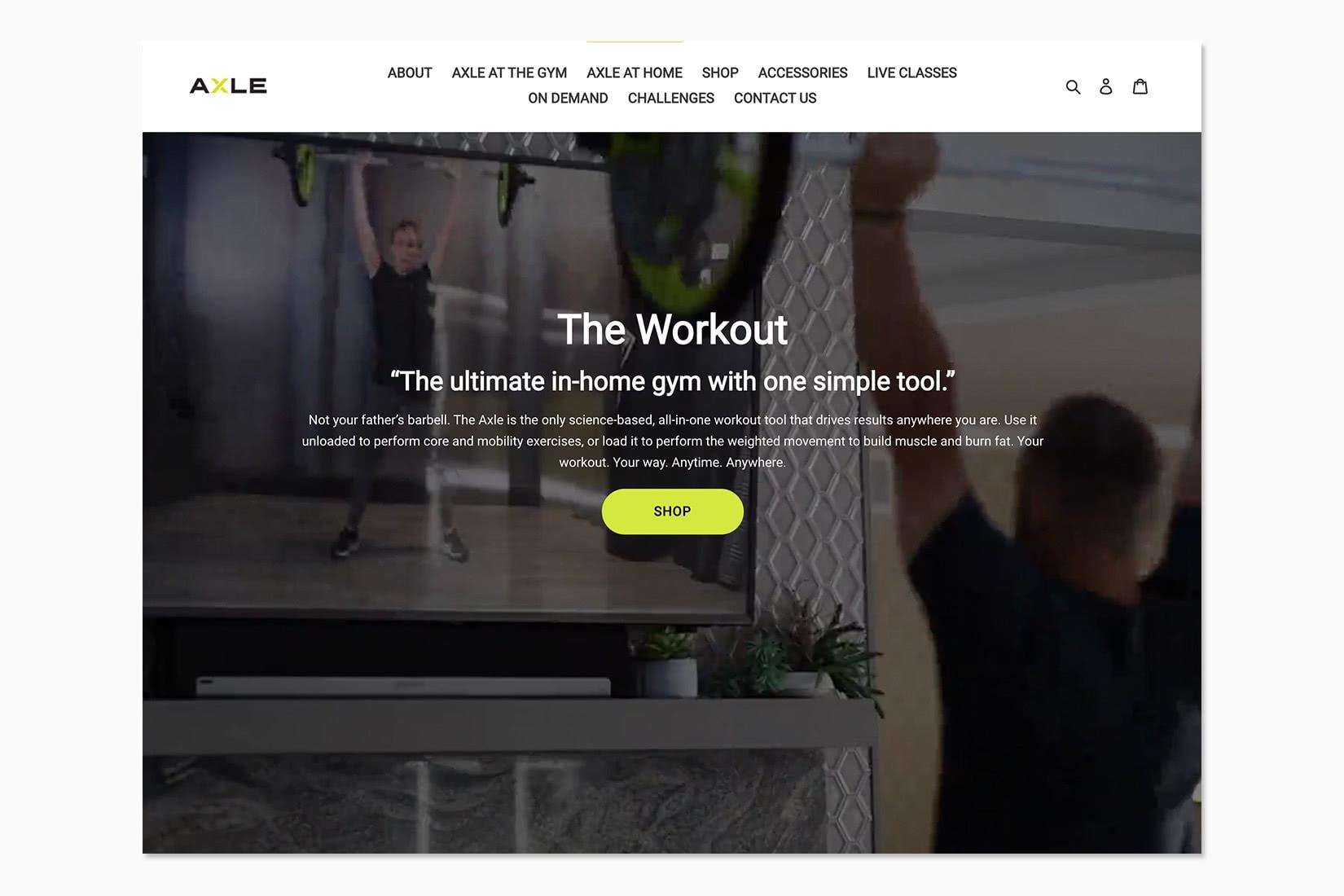 best online workout program theaxleworkout review - Luxe Digital