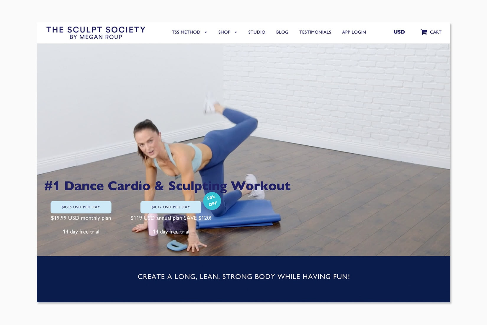 best online workout program thesculptsociety review - Luxe Digital