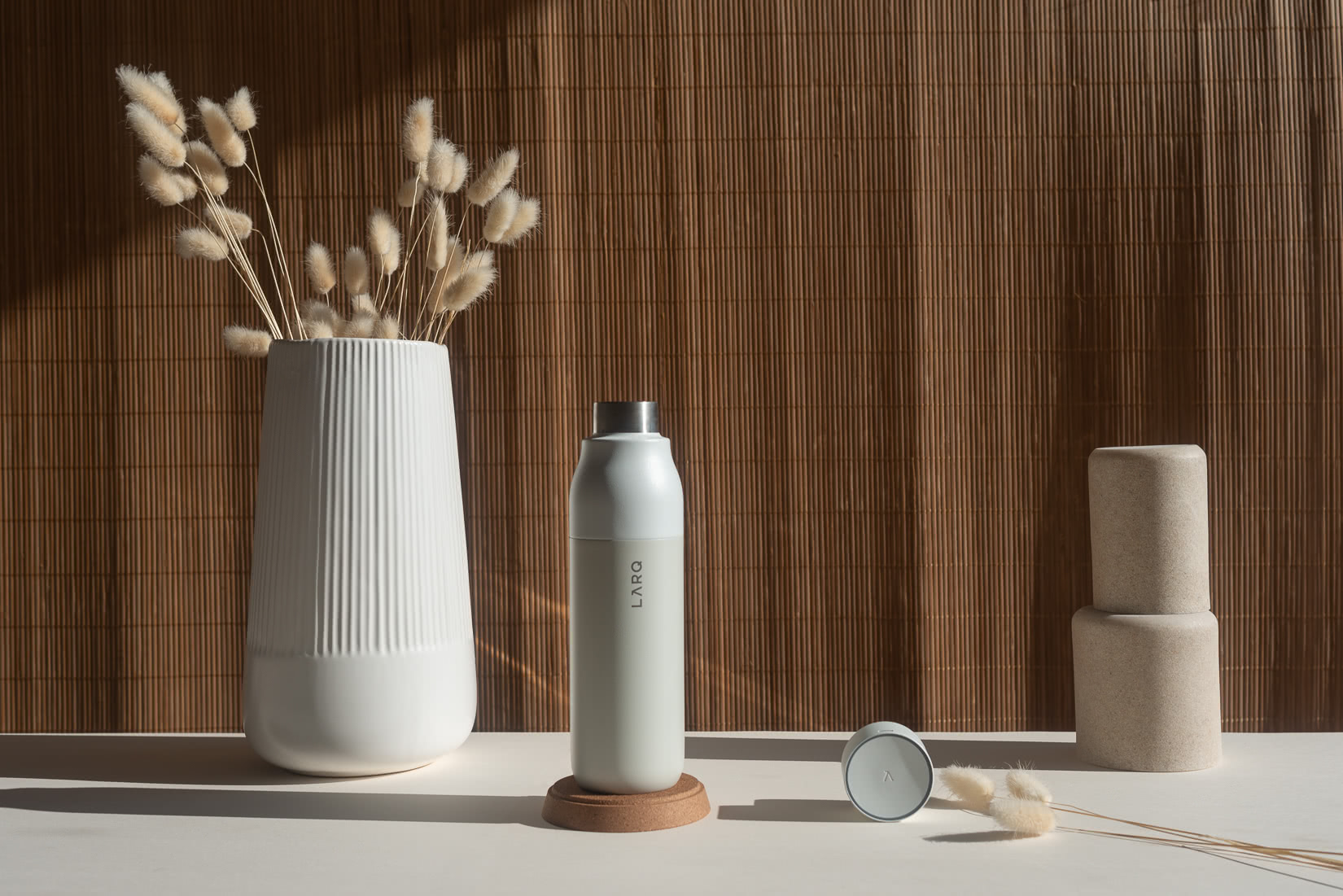 LARQ purifying water bottle review - Luxe Digital