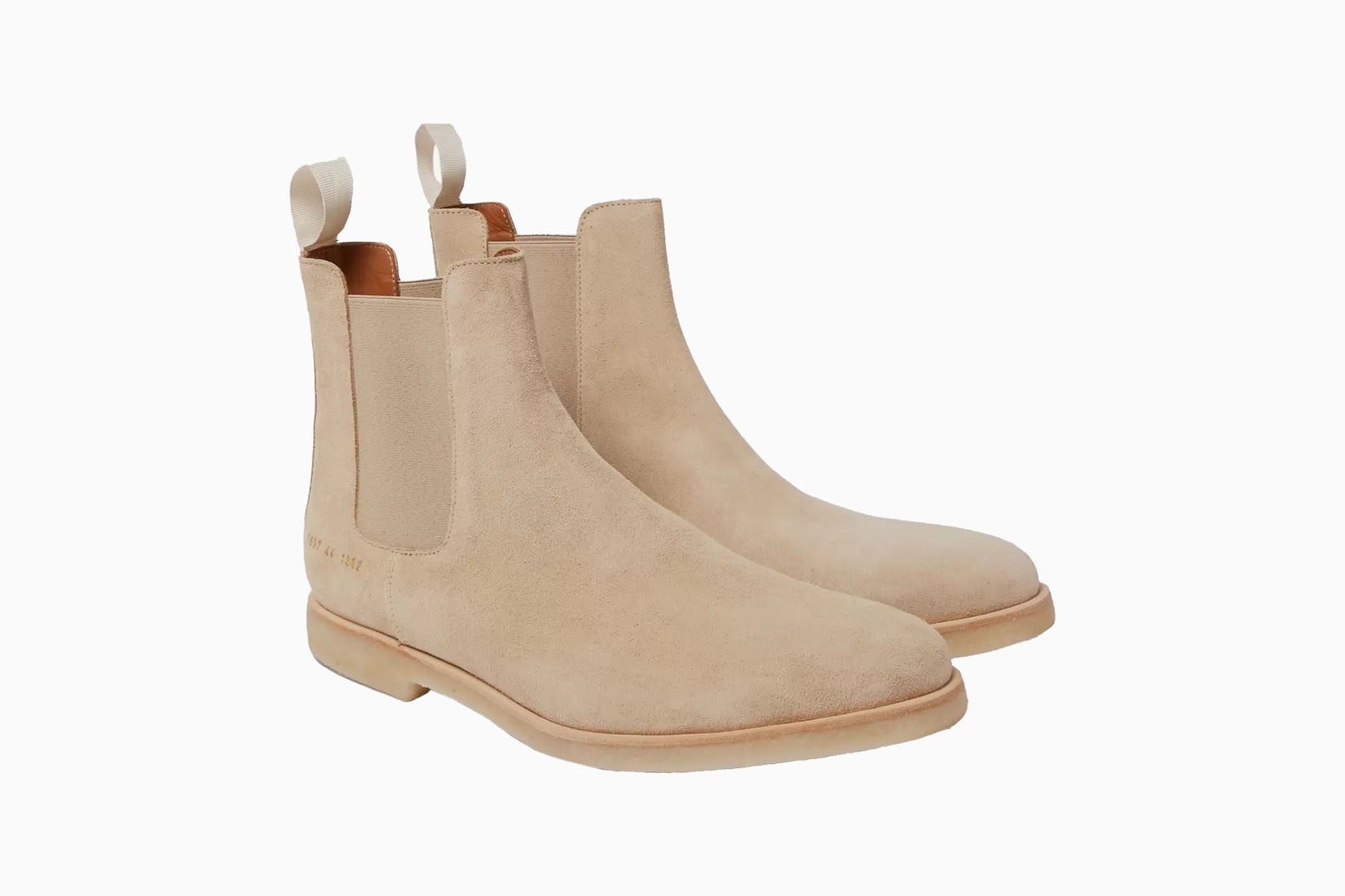 best chelsea boots common projects review luxe