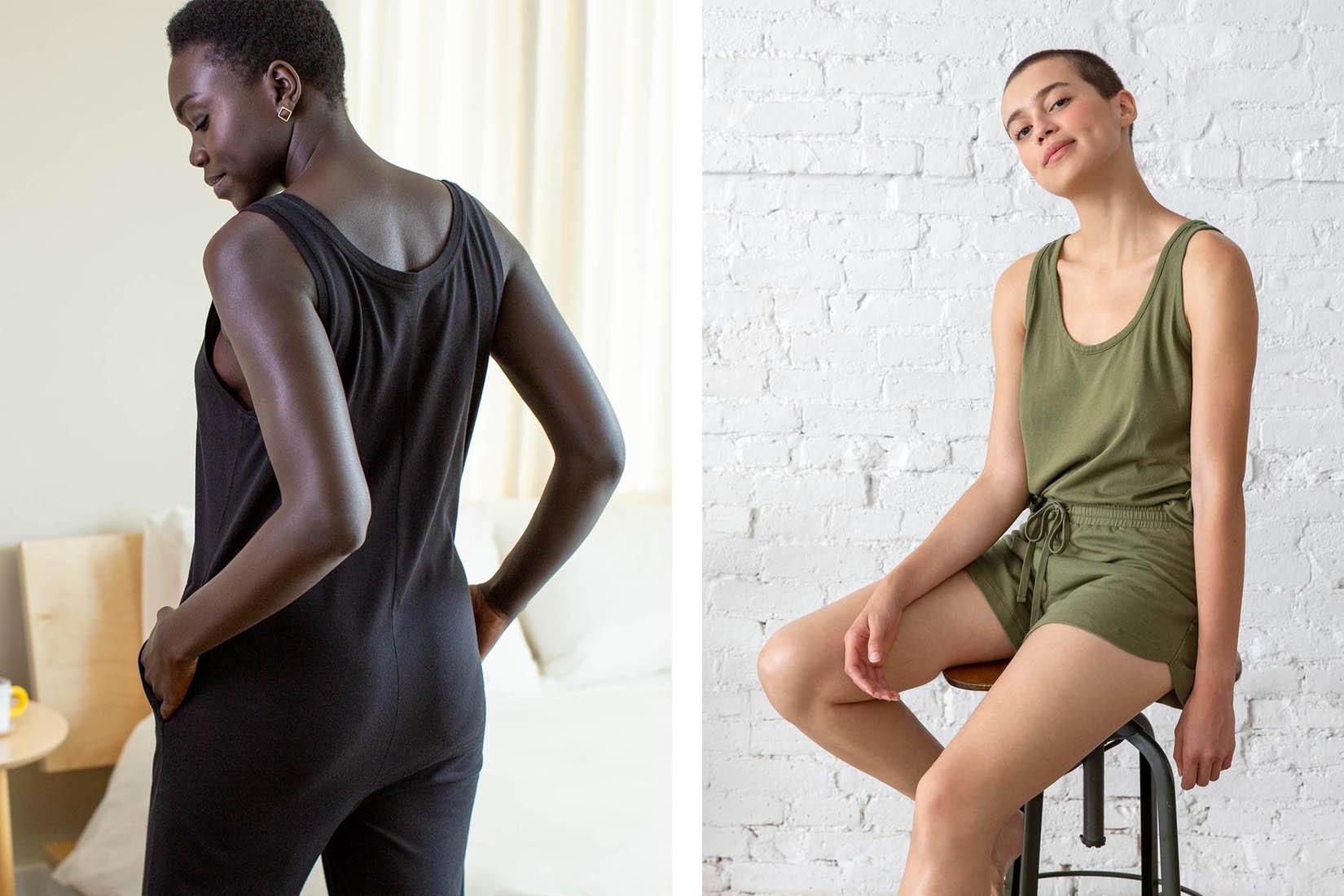 best loungewear brands women brooklinen review Luxe Digital