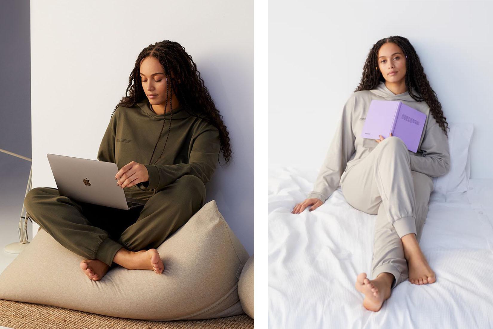 best loungewear brands women pangaia review Luxe Digital