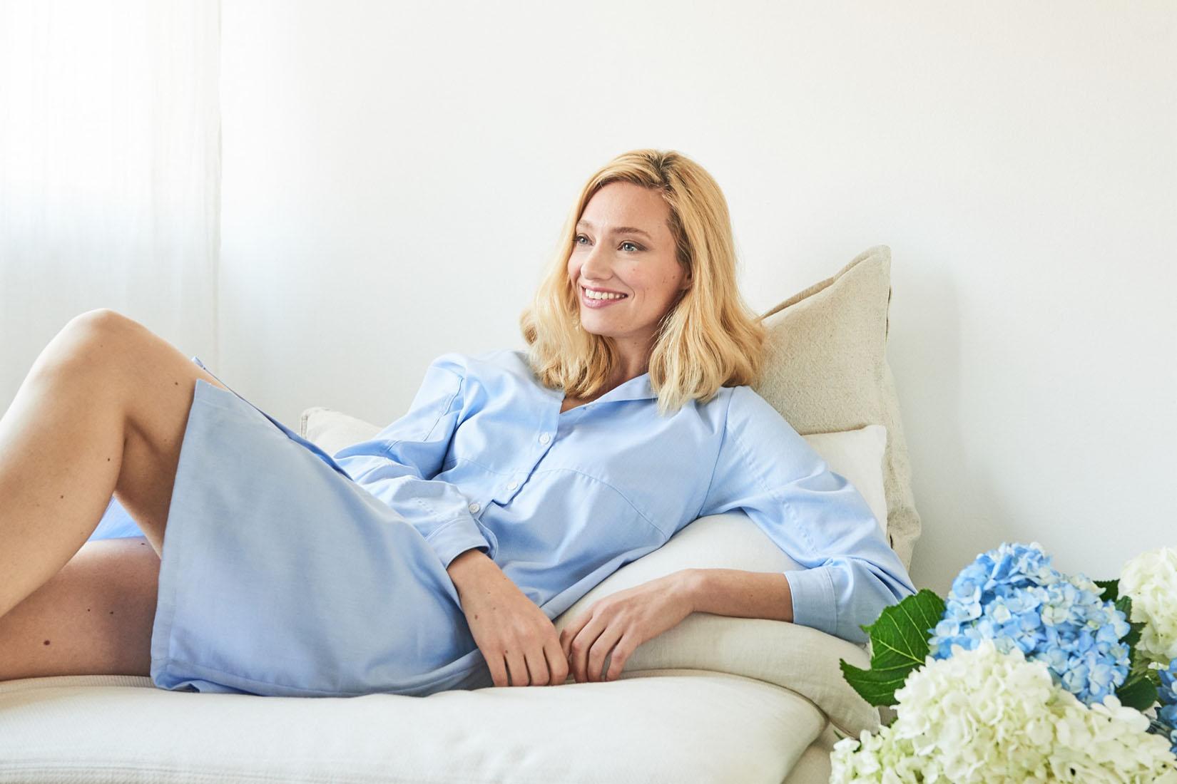 best loungewear brands women the sleep shirt review Luxe Digital