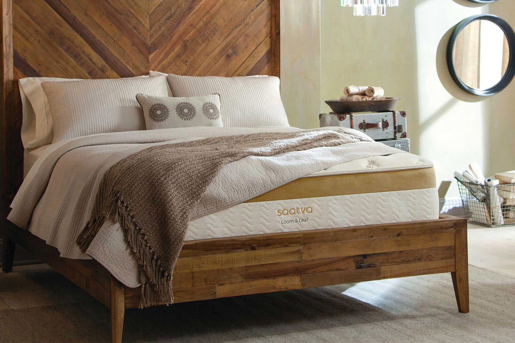 best luxury mattress brands loom and leaf review luxe digital