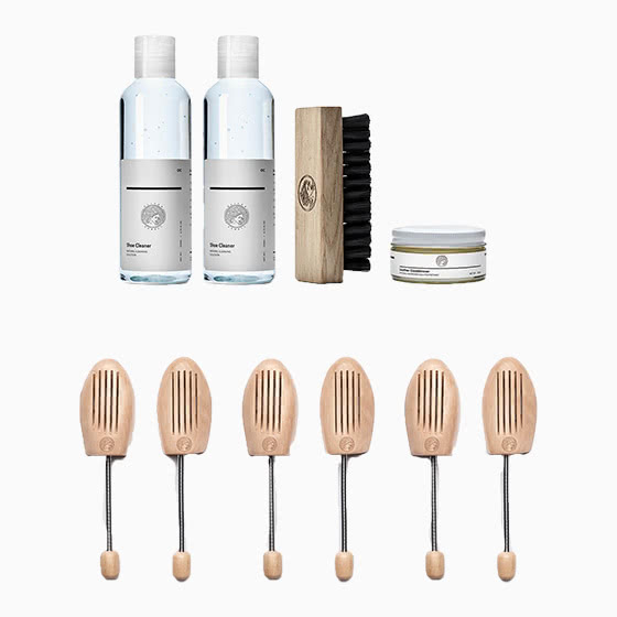 oliver cabell review kit de limpieza de zapatillas - Luxe Digital