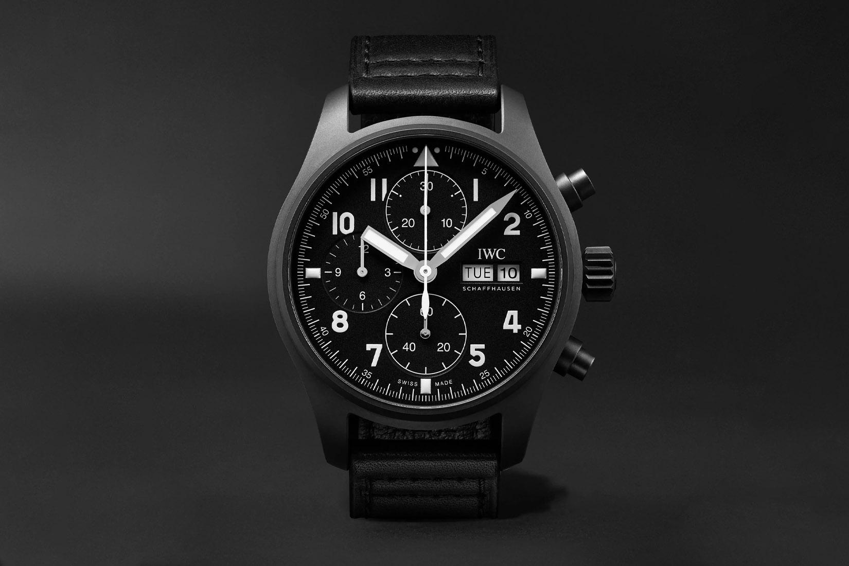 best luxury watch iwc schaffhausen pilot's limited edition Luxe Digital