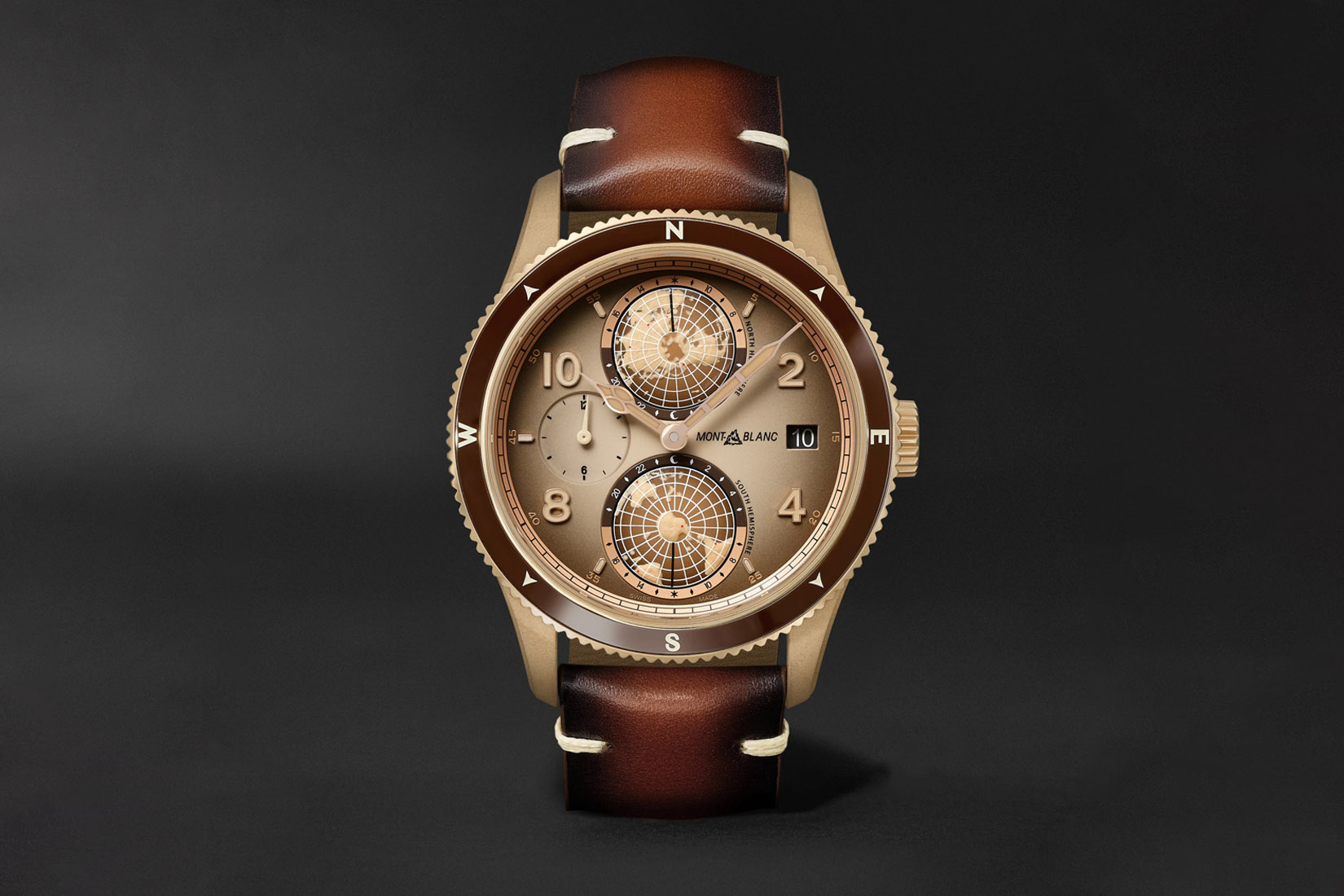 best luxury watch montblanc 1958 geosphere limited edition Luxe Digital