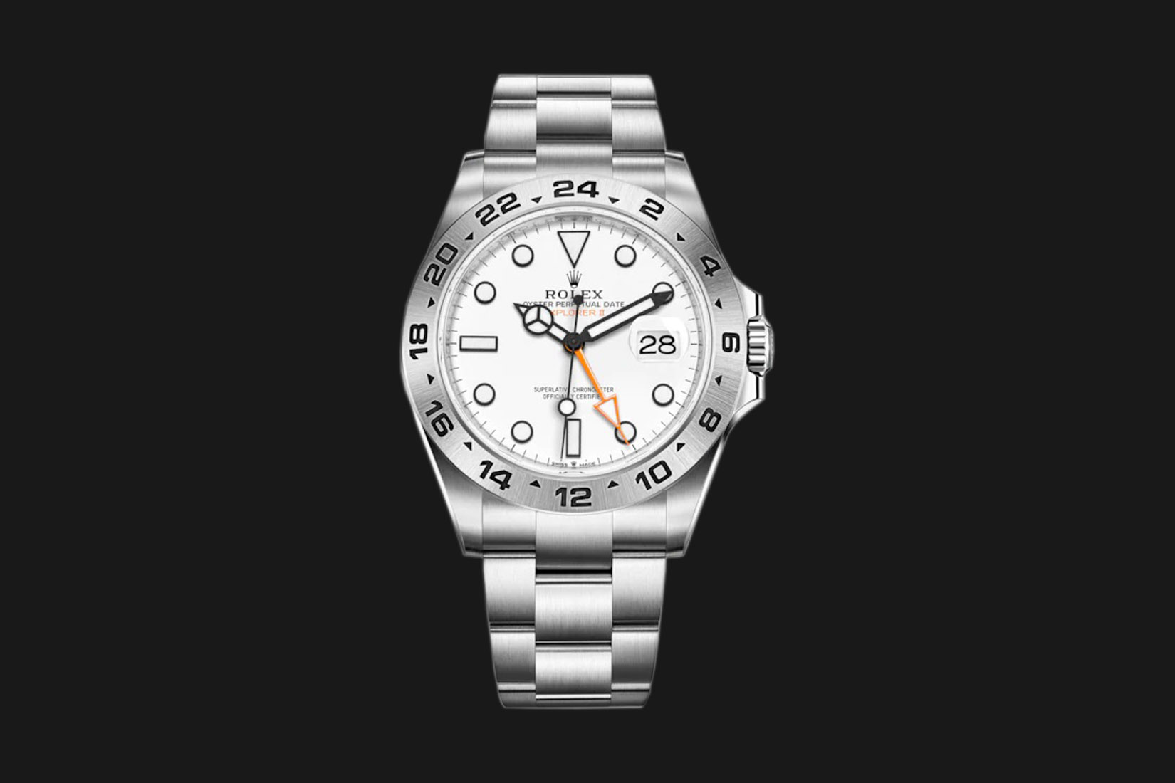 best luxury watch rolex explorer ii ref. 216570 Luxe Digital