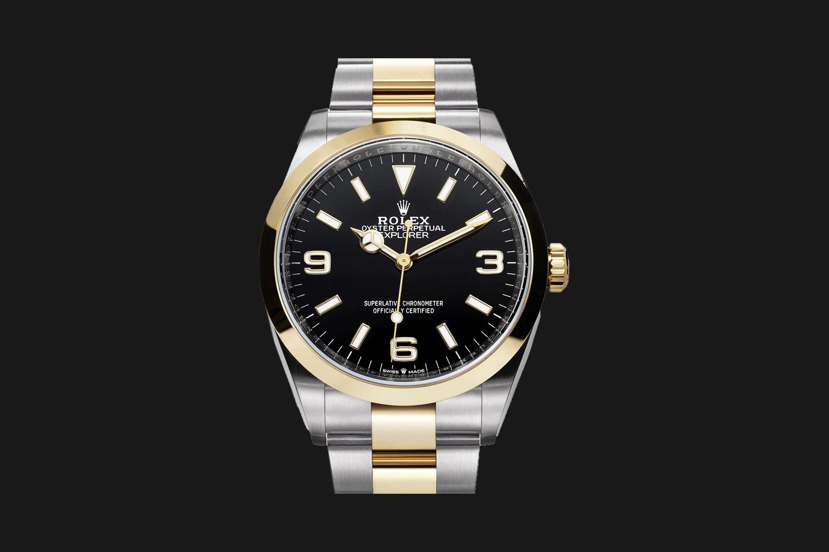 best luxury watch rolex oyster perpetual explorer Luxe Digital