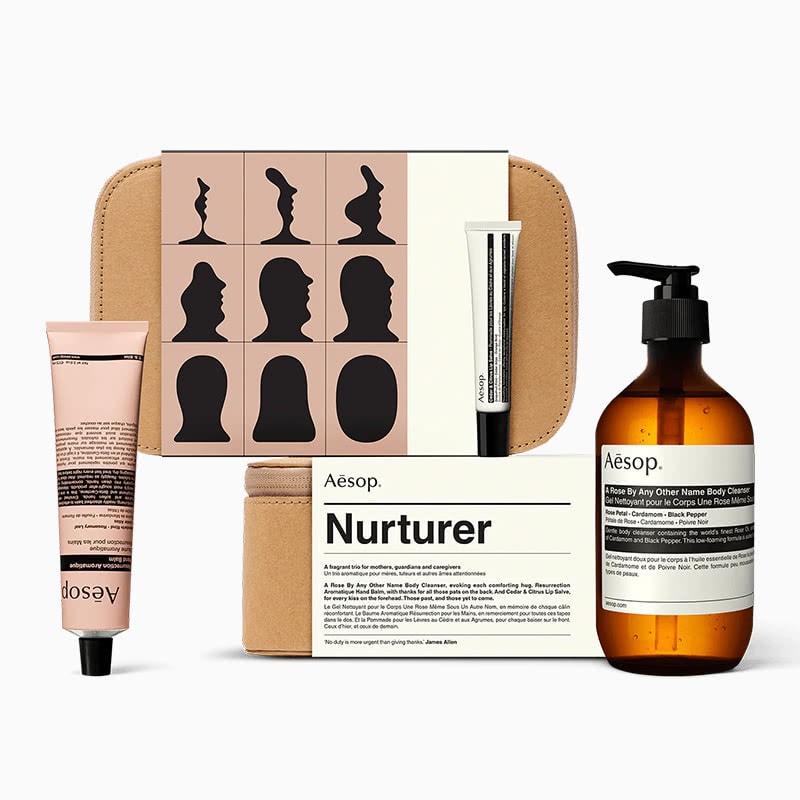 best gifts for women aesop Nurturer kit - Luxe Digital