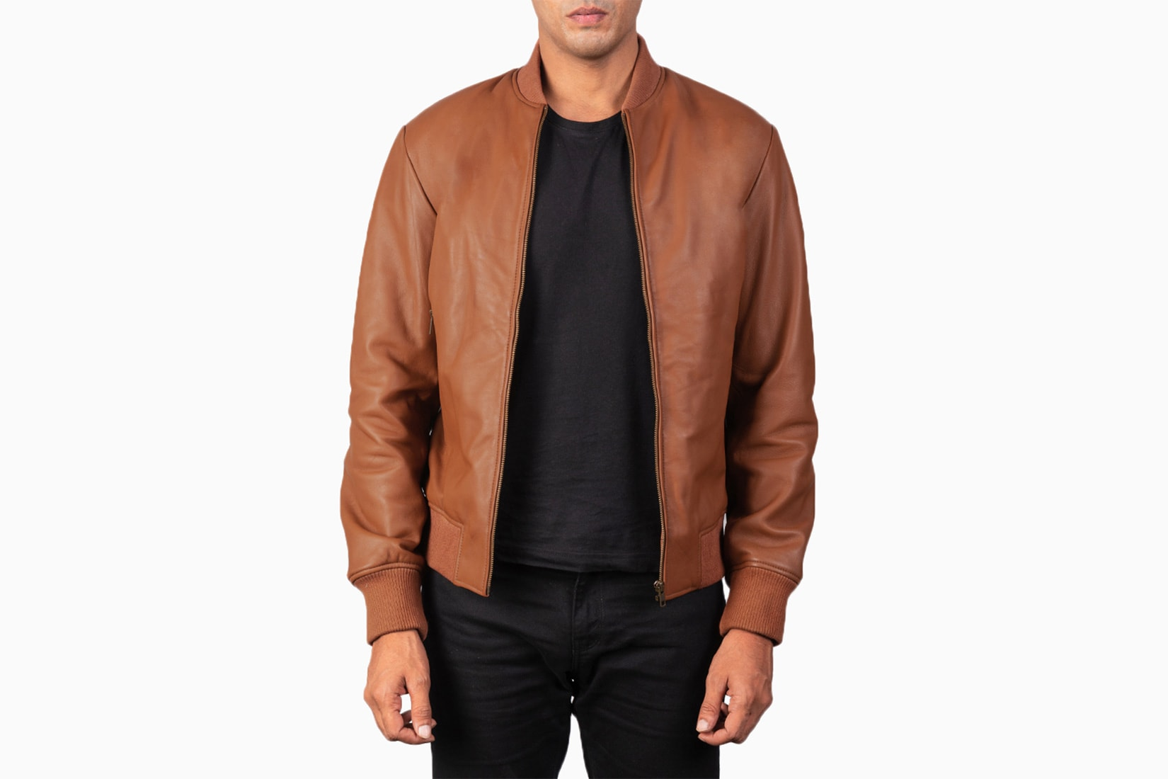 best men bomber jacket maker shane leather review - Luxe Digital