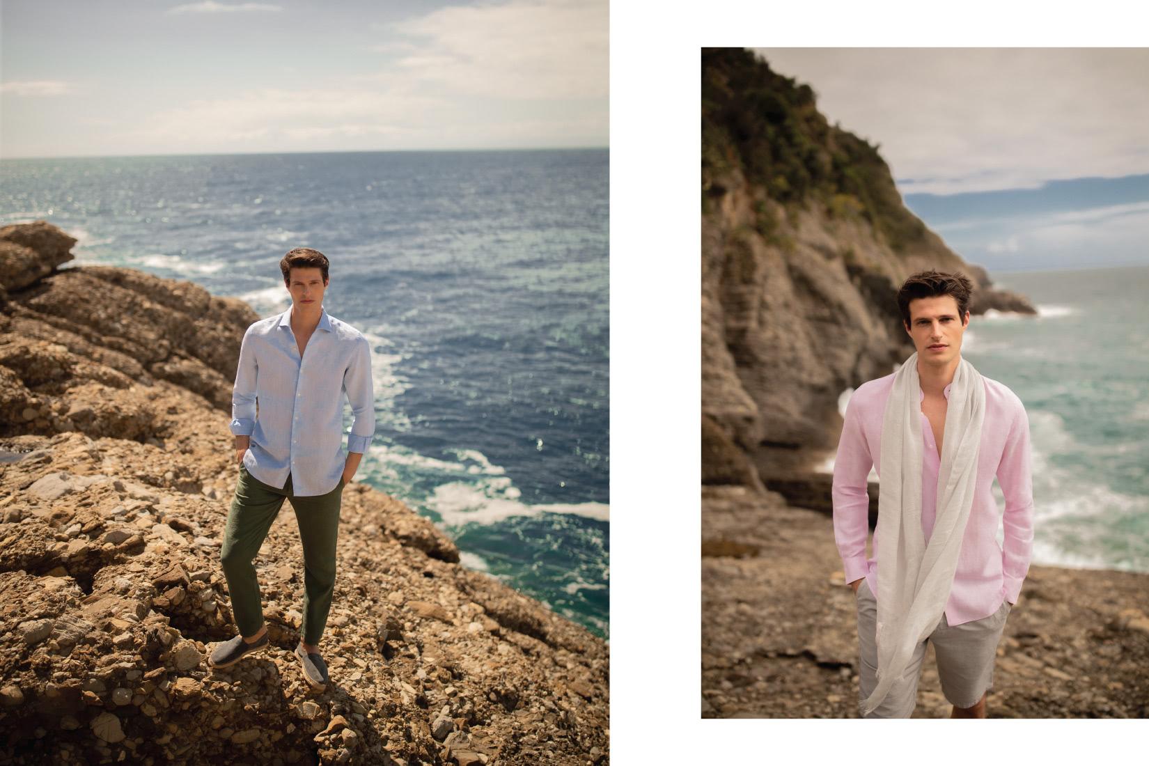 luca faloni menswear summer collection luxe digital
