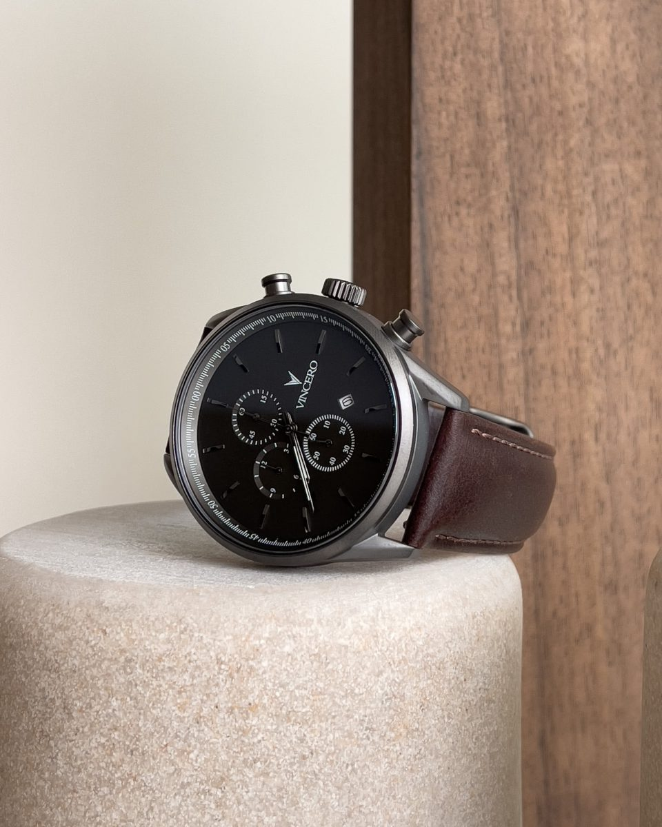 Vincero chrono watch review - Luxe Digital