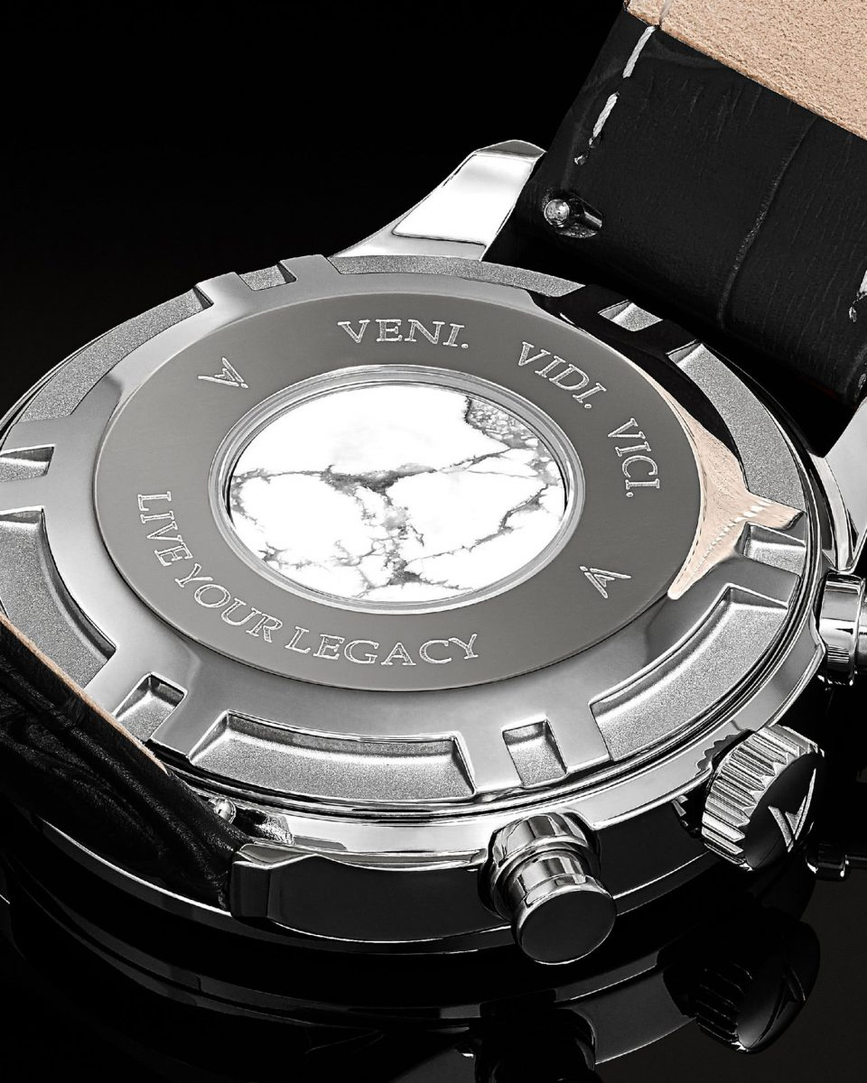 Vincero chrono marble back watches review - Luxe Digital