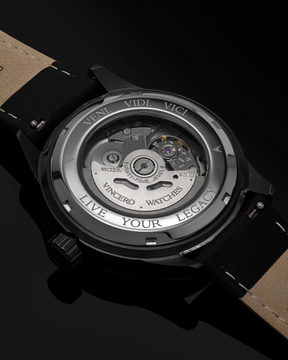 Vincero icon marble back watches review - Luxe Digital