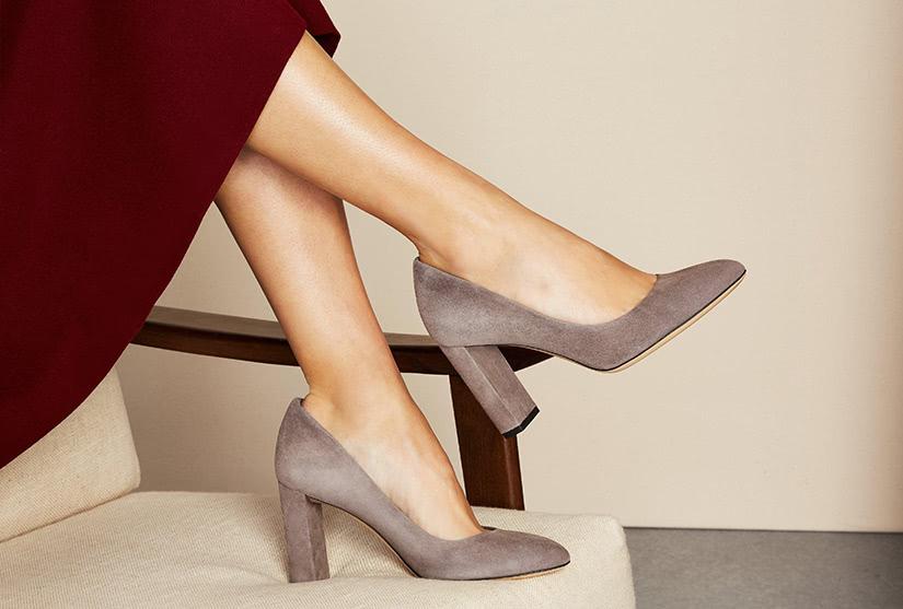 most comfortable heels walking luxe digital