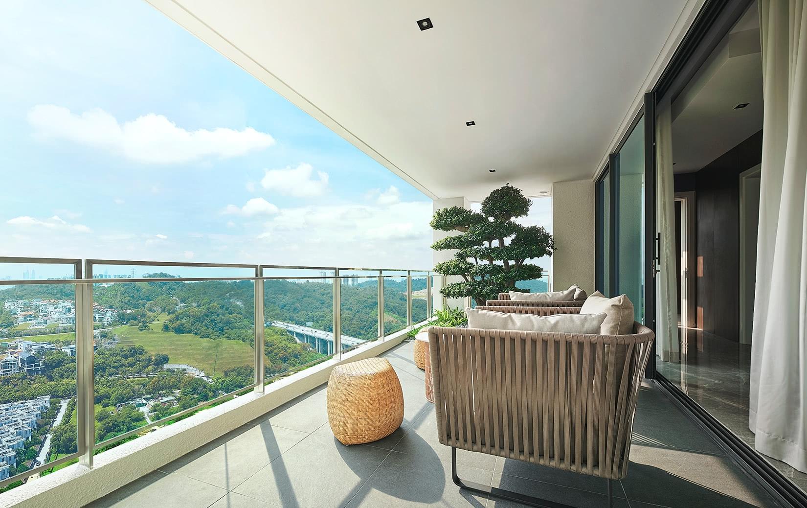 park regent malaysia apartment balcony - Luxe Digital