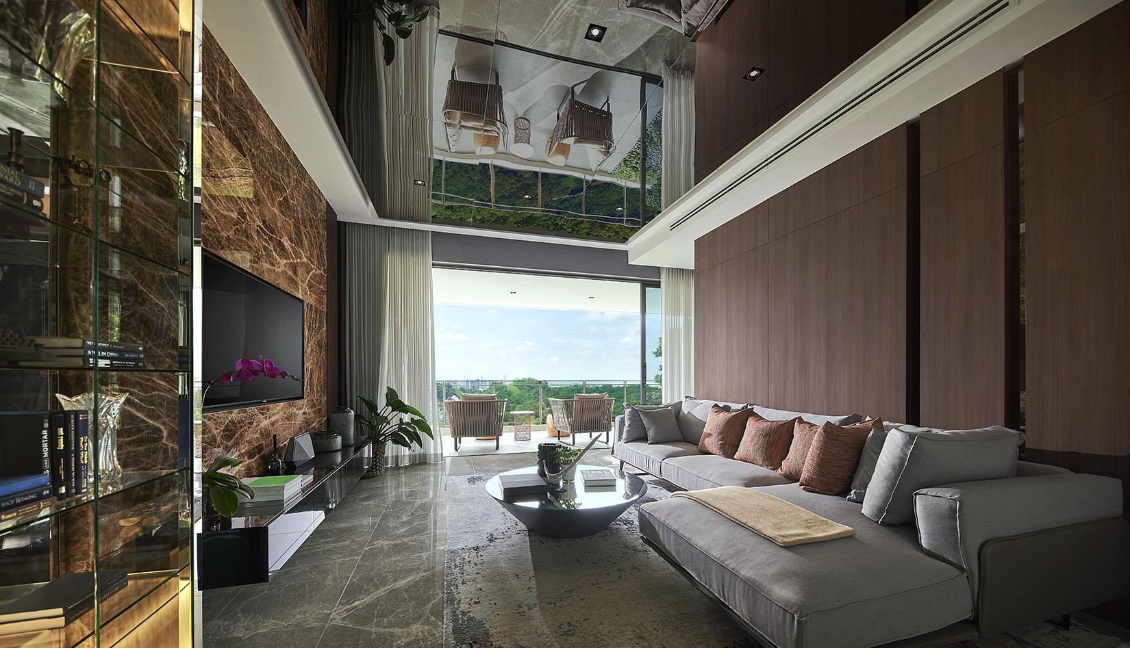park regent malaysia apartment living hall - Luxe Digital