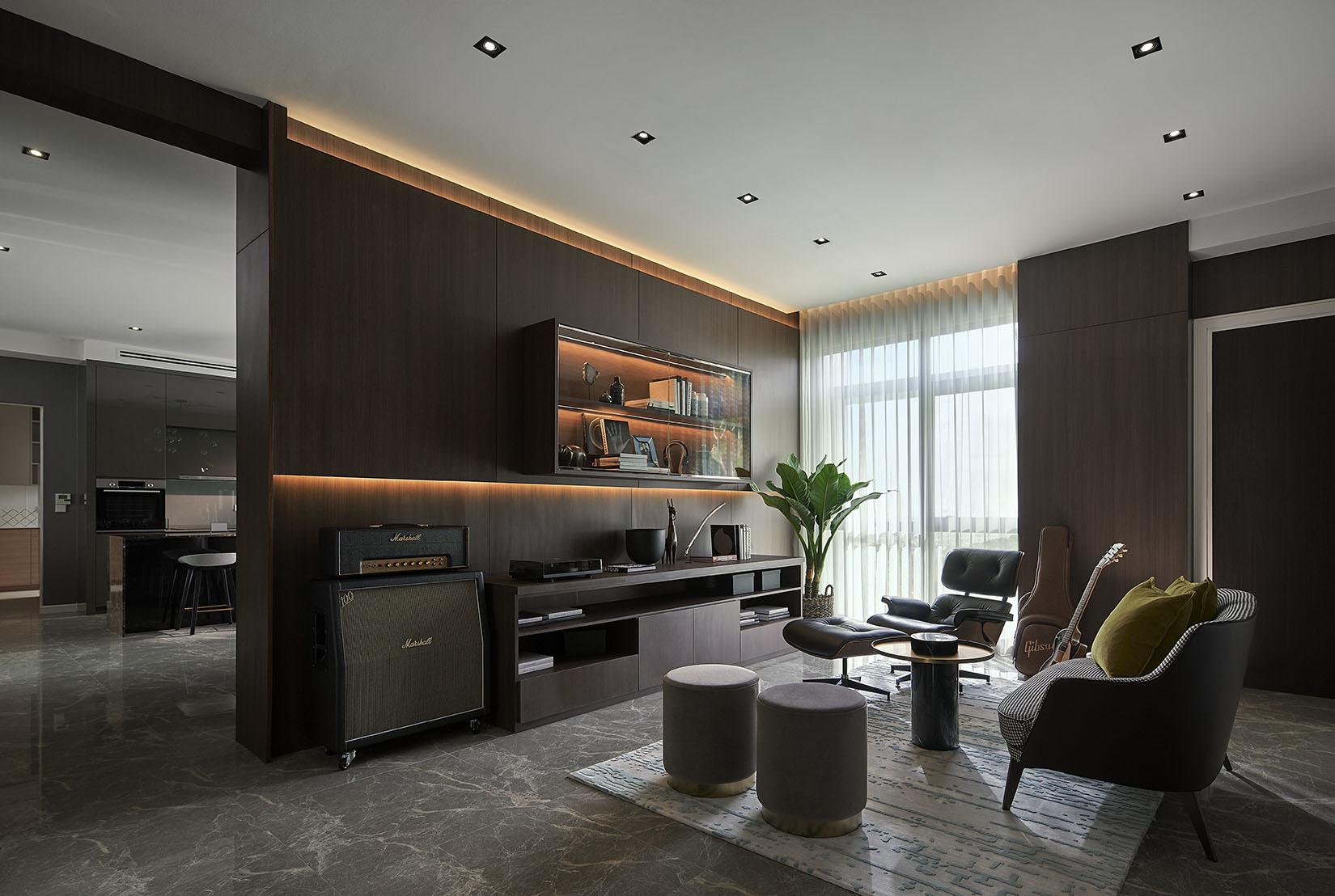 park regent malaysia apartment living room - Luxe Digital