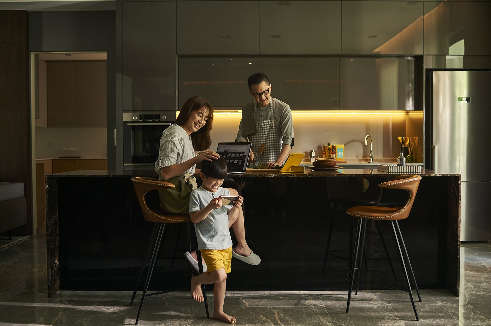 park regent malaysia property dry kitchen - Luxe Digital