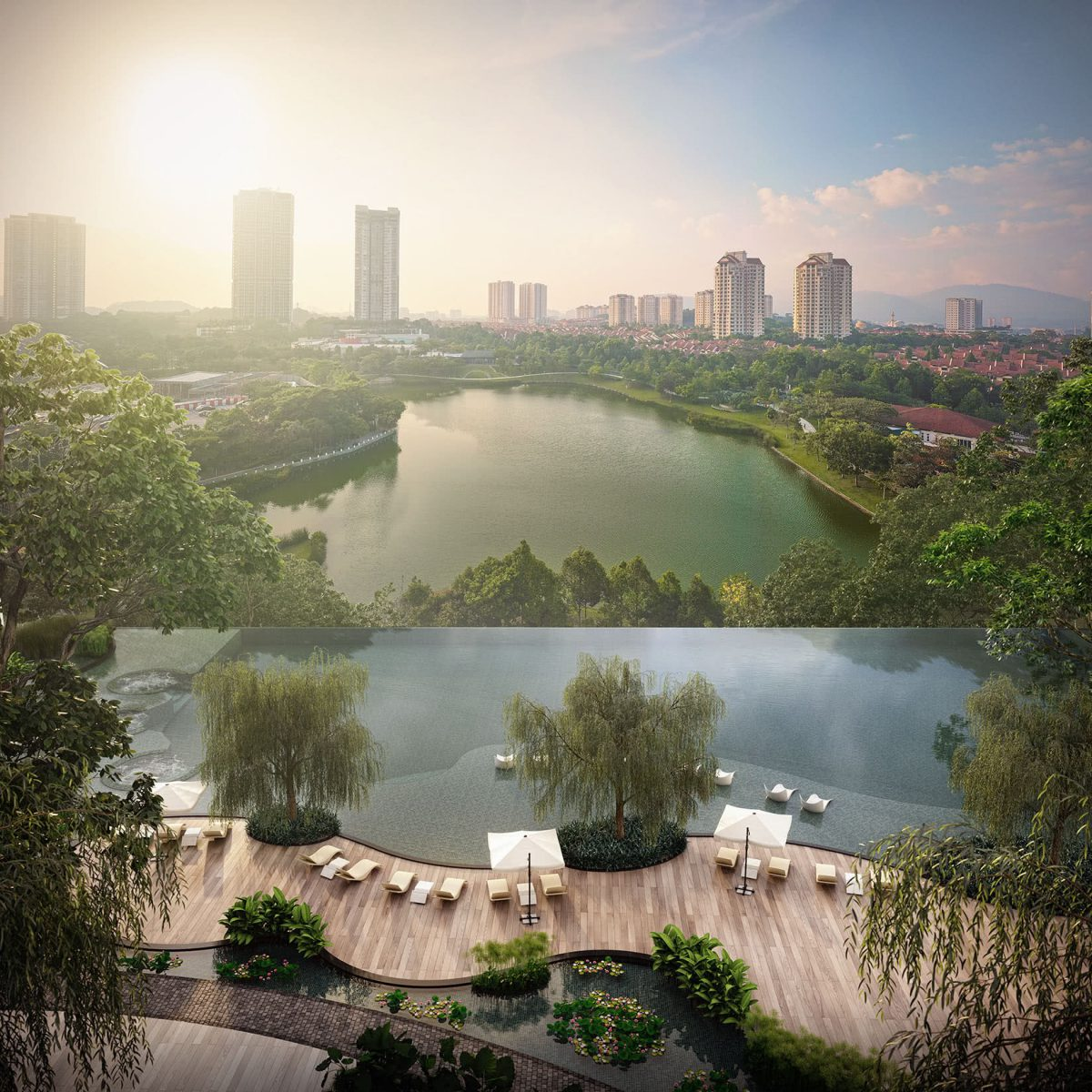 park regent malaysia property infinity pool - Luxe Digital