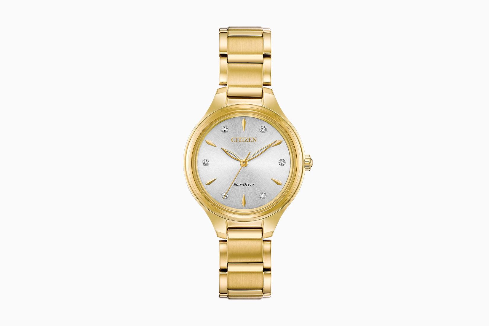 best women watches gold citizen corso review - Luxe Digital