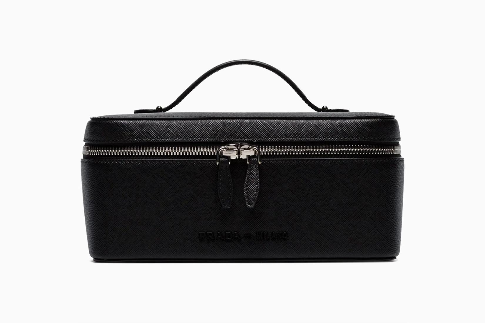 best toiletry bags women prada luxury leather case luxe digital