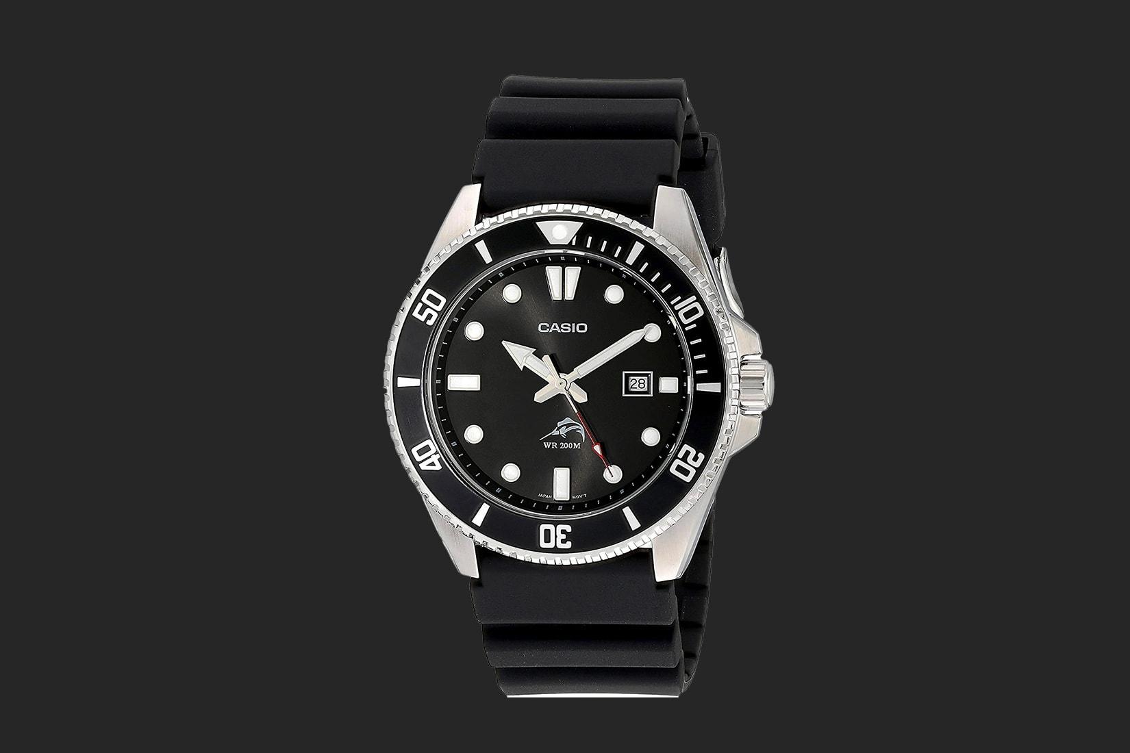 best dive watch beginners casio MDV106-1AV review - Luxe Digital