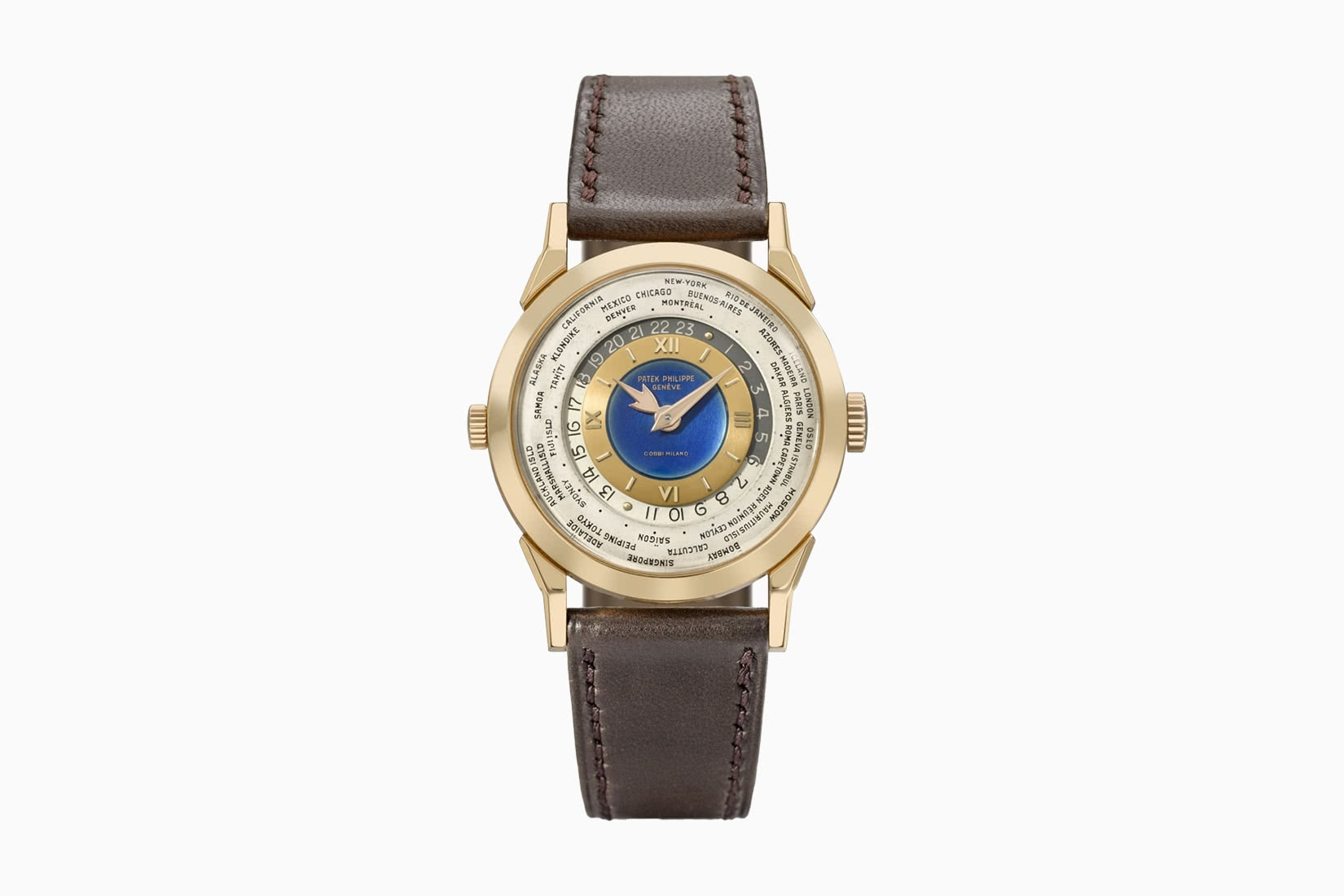most expensive watches patek philippe gobbi milan heures universelles ref 2523 - Luxe Digital