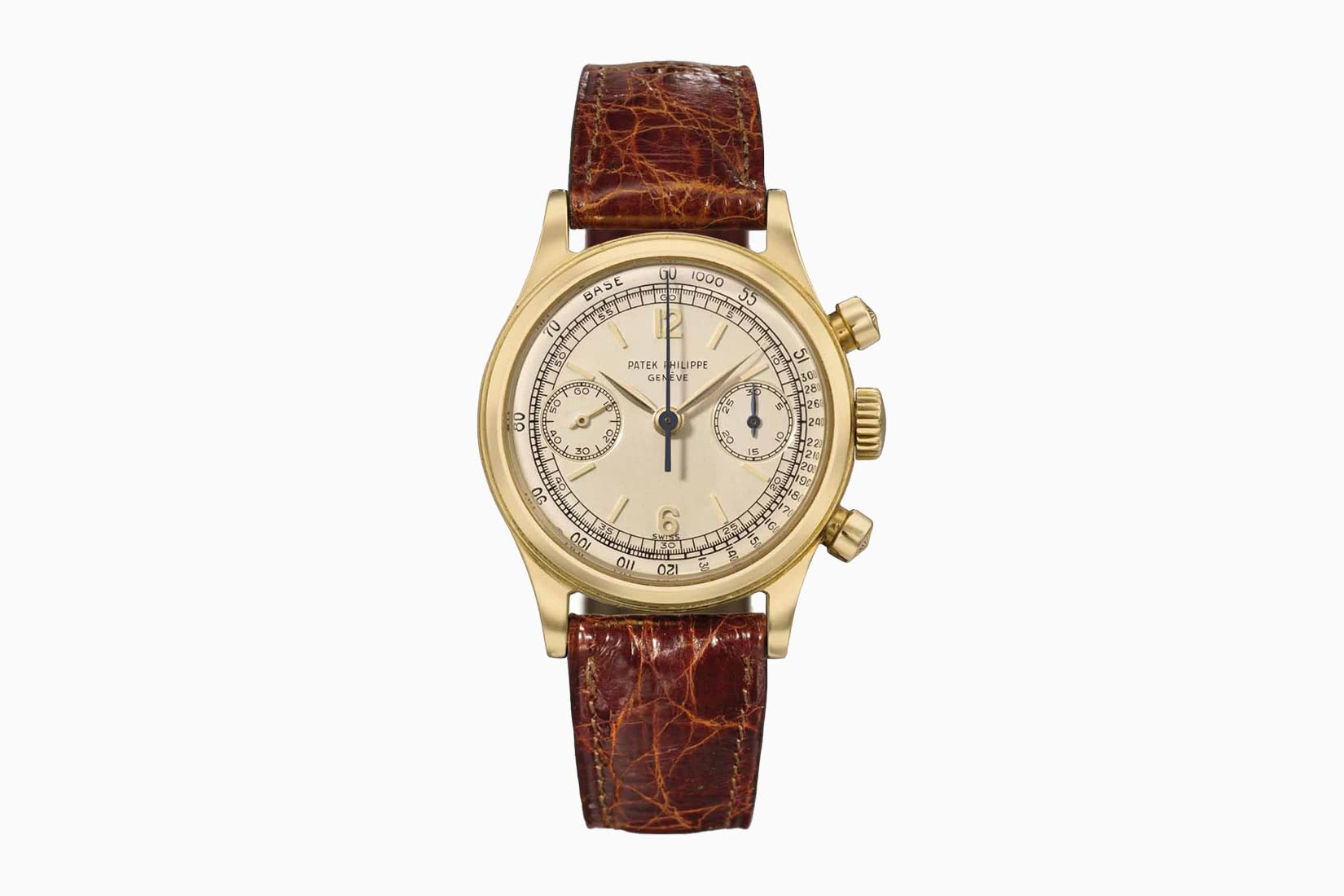 most expensive watches patek philippe gold chronograph ref 1527 - Luxe Digital