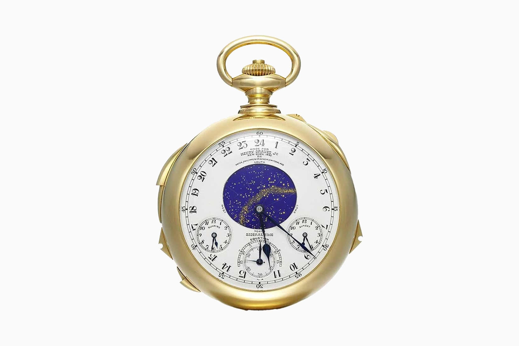 most expensive watches patek philippe henry graves supercomplication - Luxe Digital