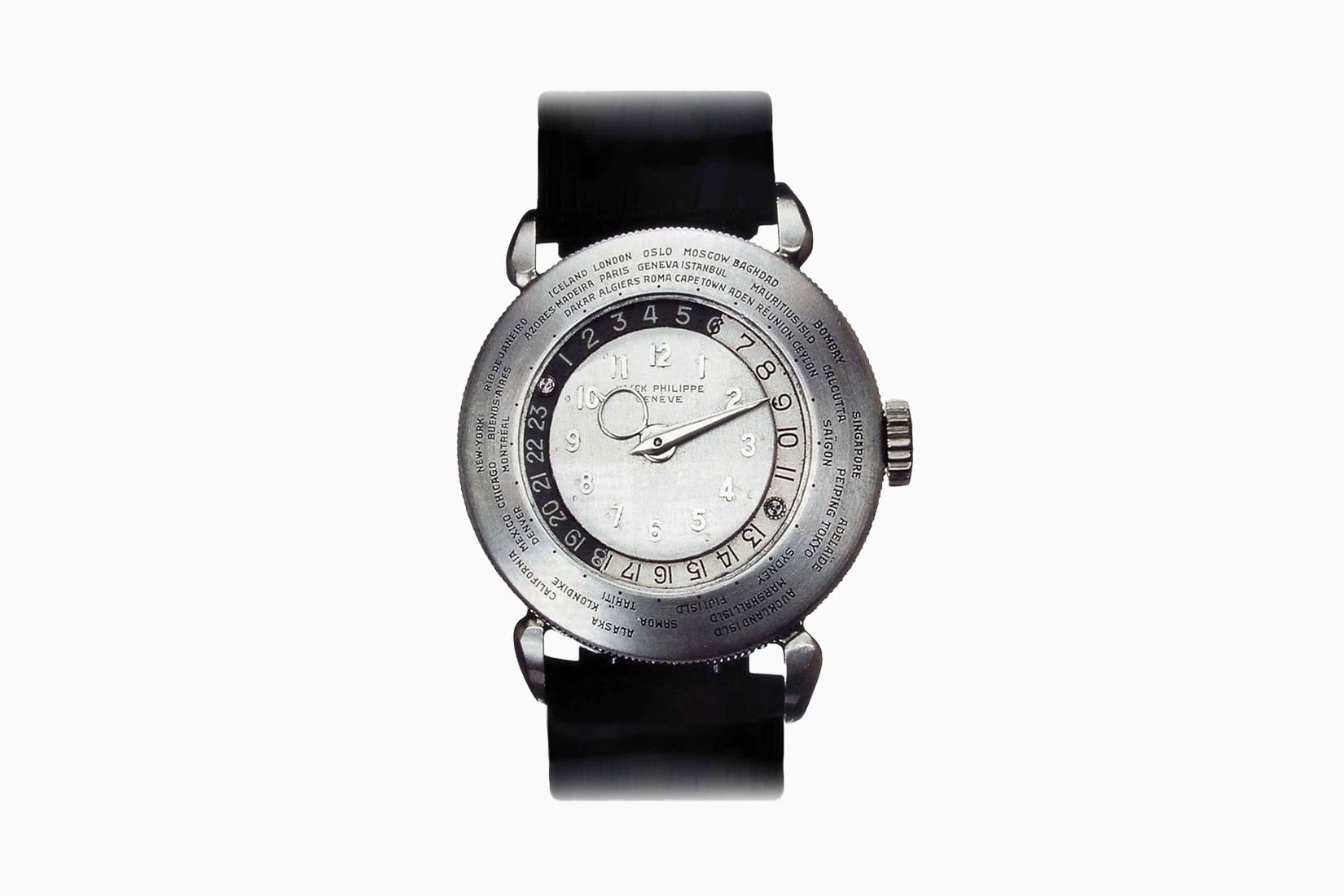 most expensive watches patek philippe platinum world time ref 1415 - Luxe Digital